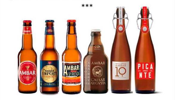 Cena maridaje con cerveza AMBAR Jueves 27 de octubre 2016 a las 20,30h